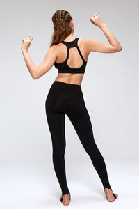 High Waist Over the Heel Tights for Yoga Training