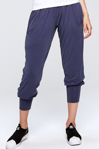 Purple Joggers Modal Comfortable Fabric