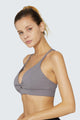 light & leaf Sexy Twist Comfy Sports Top Fashionable Bra