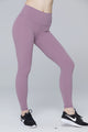 light & leaf fashion activewear super comfy yoga pants/leggings with hidden waist pocket baby pink/light purple