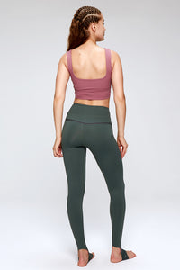 of trend activewear set sports bra with leggings