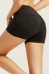 Activewear Sports Short Tight Stretch Knit Mesh Tight for Yoga Running Workout Performance