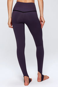 Basic High Waist Yoga Pants over the heel