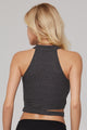 Lower Racer Straps Workout Top