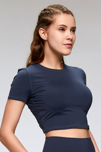 slim fit crop top