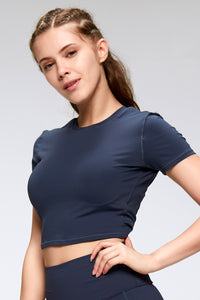Comfy short sleeves workout top