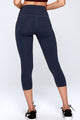 high waist 3/4 yoga pants