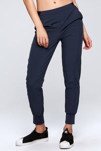 Basic Comfortable Casual Pants w. Pockets Front