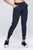 light & leaf Women's Comfy Pocketed Casual Bottoms Elastic Jogging Pants Streetwear (XXS-M)