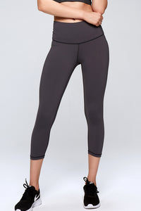 High quality active wear fashion capris