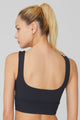 Women's Basic High Impact Workout & Gym Crop Top