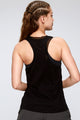 Dual Layer Mesh Opening Sleeveless Top