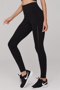 light & leaf Basic High Waist Polyester Yoga Pants