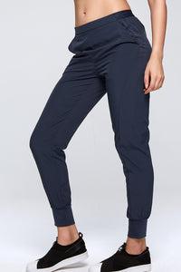 Basic Comfortable Casual Pants w. Pockets Side