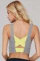 Criss-cross Elastic Bands Workout Bra