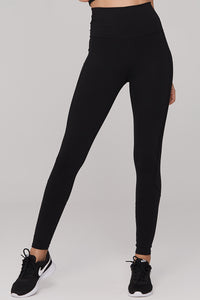 light & leaf Basic High Waist Polyester Workout Pants