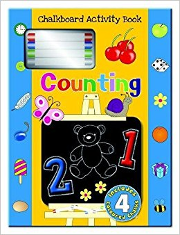 Chalkboard Activity Book - Counting - Kids Book Nook