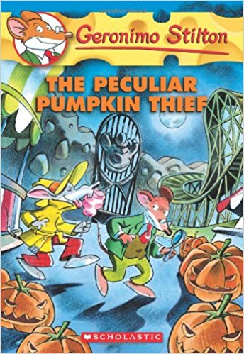 Geronimo Stilton - The Peculiar Pumpkin Thief - Kids Book Nook