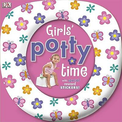 Girls' Potty Time with Reward Stickers - Kids Book Nook