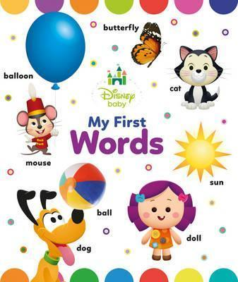 Disney Baby My First Words Book - Kids Book Nook