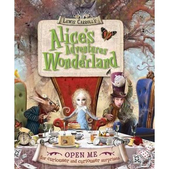 Lewis Carroll's Alice's Adventures in Wonderland retold by Harriet Castor - Kids Book Nook