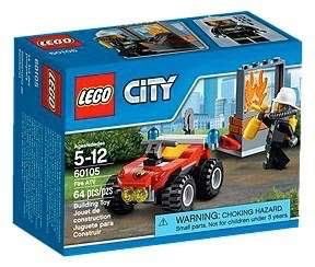 LEGO City 60105 - Fire ATV - Kids Book Nook