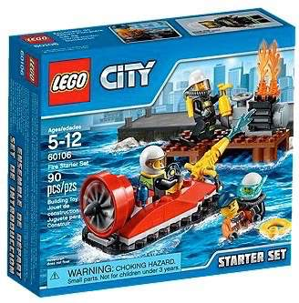 LEGO City 60106 - Fire Starter Set - Kids Book Nook