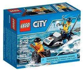 LEGO City 60126 - Tyre Escape - Kids Book Nook