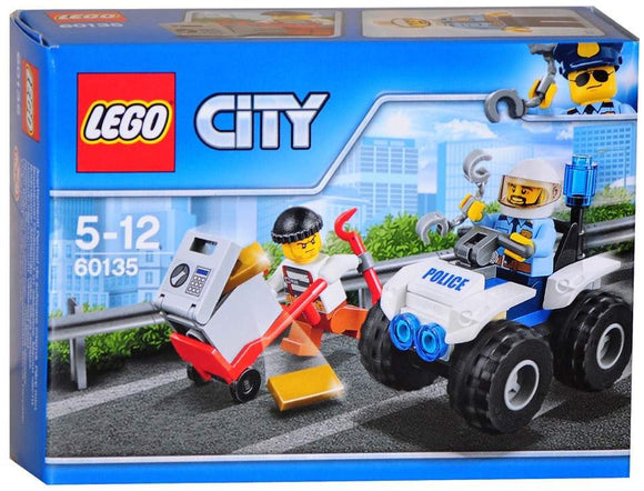 LEGO City 60135 - ATV Arrest - Kids Book Nook