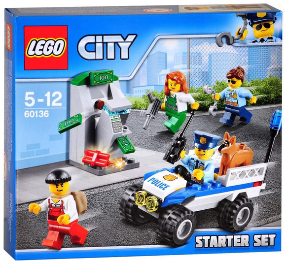 LEGO City 60136 - Police Starter Set - Kids Book Nook