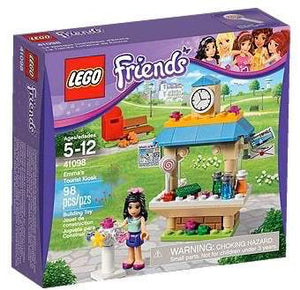 LEGO Friends 41098 - Emma's Tourist Kiosk - Kids Book Nook