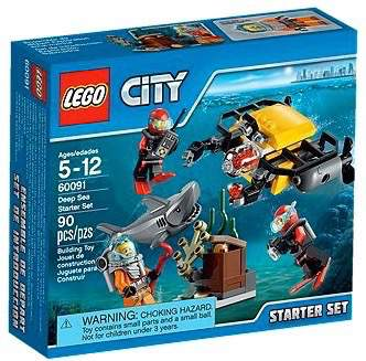 LEGO City 60091 - Deep Sea Starter Set - Kids Book Nook