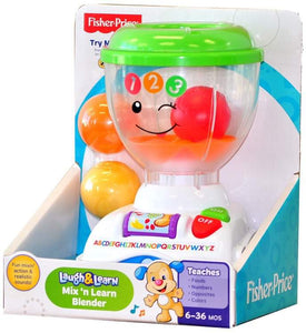 Fisher-Price Laugh & Learn Mix 'n Learn Blender - Kids Book Nook