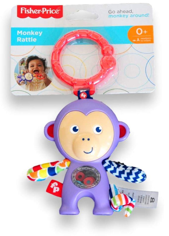 Fisher-Price Monkey Rattle - Kids Book Nook