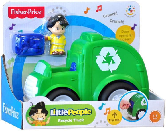 Fisher-Price Little People Recycle Truck - Kids Book Nook