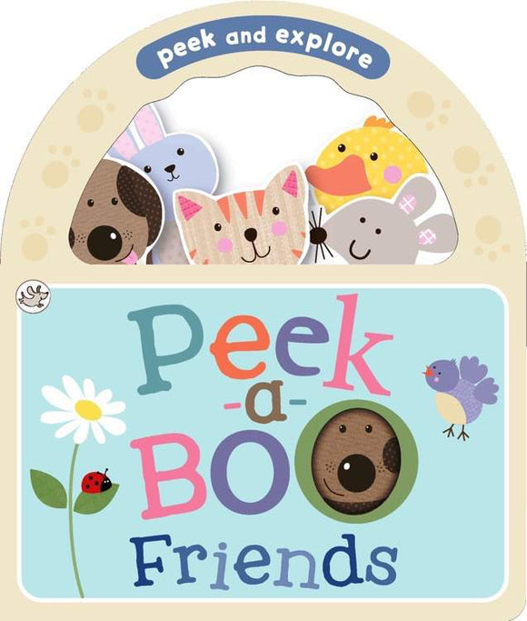 Peek and Explore Peek-a-Boo Friends Board Book - Kids Book Nook