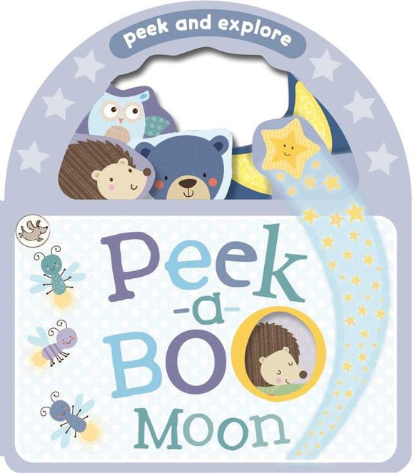Peek and Explore Peek-a-Boo Moon Board Book - Kids Book Nook