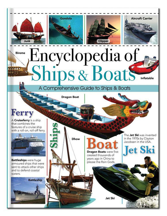Encyclopedia of Ships & Boats - Kids Book Nook