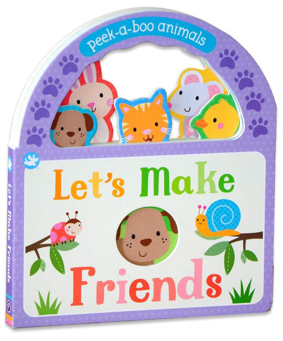 Peek-a-Boo Animals Let's Make Friends Board Book - Kids Book Nook