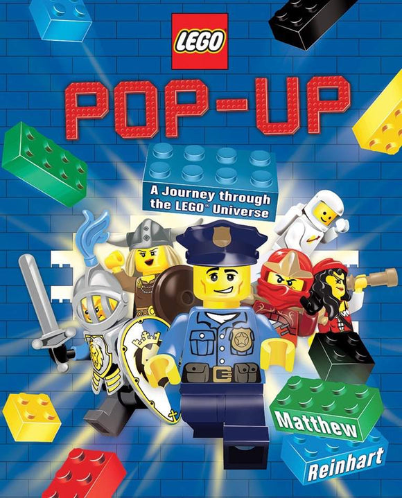 LEGO Pop-Up - A Journey Through the LEGO Universe - Kids Book Nook