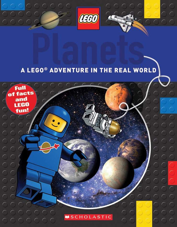 LEGO Planets - A LEGO Adventure in the Real World - Kids Book Nook