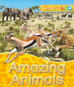 Explorers: Amazing Animals - Kids Book Nook