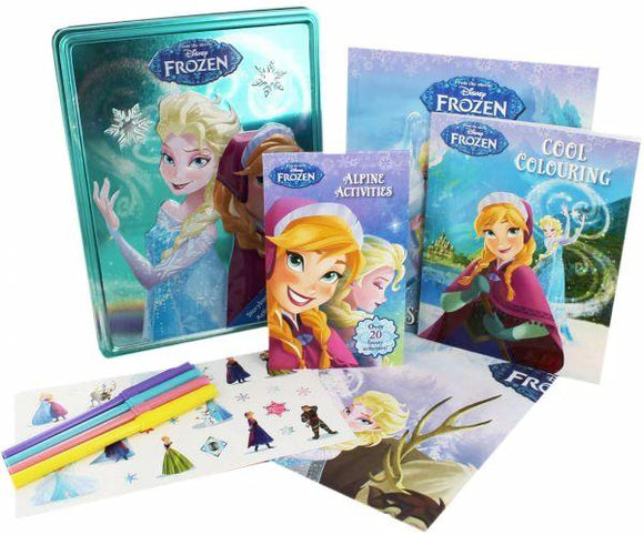 Disney Frozen Happy Tin - Kids Book Nook