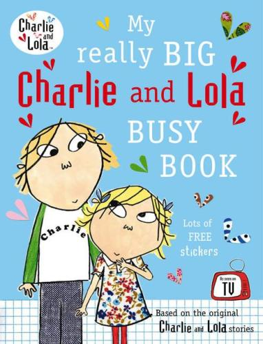 Charlie and Lola - My Really Big Busy Book - Kids Book Nook