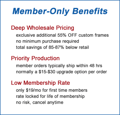 wholesale account benefits