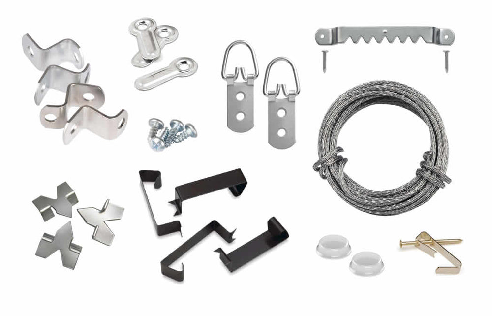 Securing and Hanging Hardware Kit