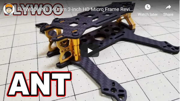 FLYWOO ANT 140mm 3-inch HD Micro Frame Review 😀