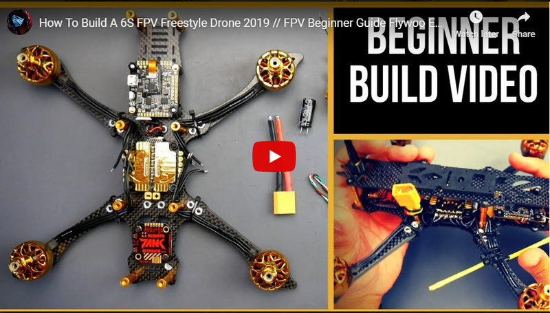 How To Build A 6S FPV Freestyle Drone 2019 // FPV Beginner Guide Flywoo Edition