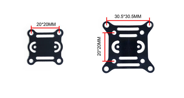10 PCS 20x20mm 30.5x30.5mm Insulation Board Short Circuit Protection for F3 F4 F7 Flight Controller ESC - FLYWOO