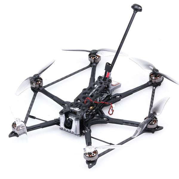 HEXplorer LR 4 4S Hexa-copter BNF Analog Caddx Ant Cam F411HEX BS13A 6IN1 600mw vtx - FLYWOO